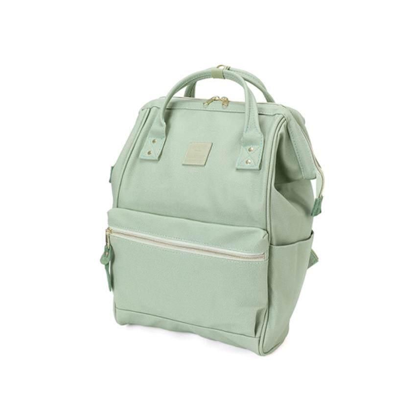 การใช้งาน  มหาสารคาม Anello mini Leather Backpack กระเป๋าเป้สะพายหลังขนาดมินิรุ่น B1212-MGR (สีเขียวอ่อน)