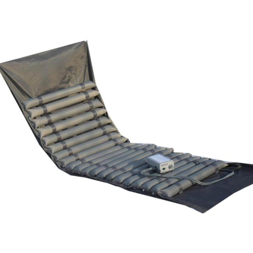 ทบทวน Ideecraft ที่นอนลม เตียงลม เพื่อสุขภาพ แบบ 20 ลอน เพื่อการผ่อนคลาย ป้องกันแผลกดทับ Anti Bedsore Air Bed Mattress ใช้ง่าย พร้อมปั้มลม สีเทา
