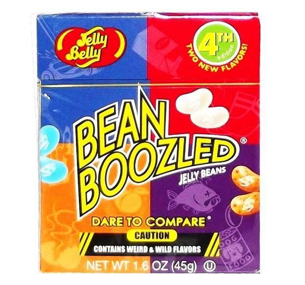 Bean Boozled ขนมลูกอมแฮรรี่ เวอร์ชั่น 4 (ขนาด 1 กล่อง 45 G).