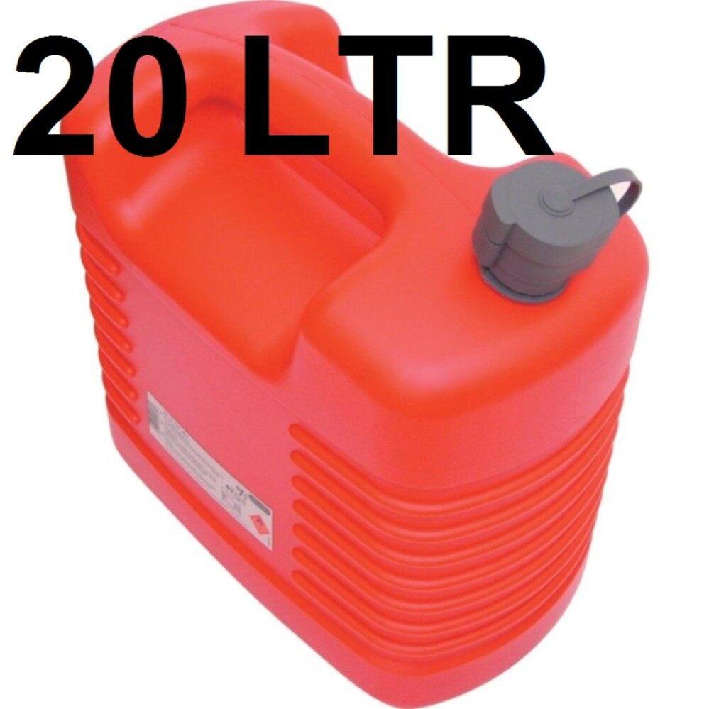 ราคา ถังน้ำมันสำรอง ขนาด 20 ลิตร ถังน้ำมันพลาสติก Fuel Container Kennedy Ken5039140K 20Ltr Plastic Jerry Can With Internal Spout 3M ใหม่