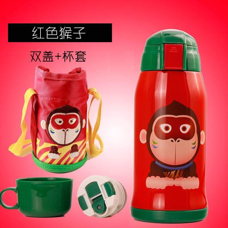 ซื้อ ทารกการ์ตูนกับฟางคู่หม้อฉนวนกันความร้อนแก้ว ถูก ใน ฮ่องกง
