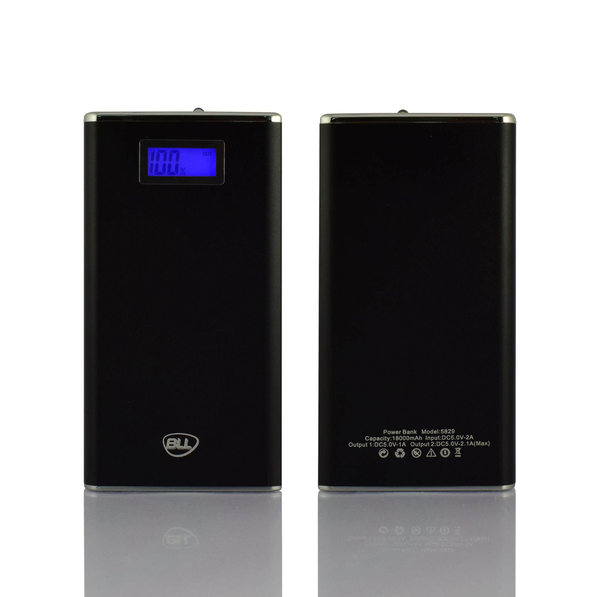 แบตสำรอง ของแท้ 100 % bll powerbank 18000 mah รุ่น 5829.