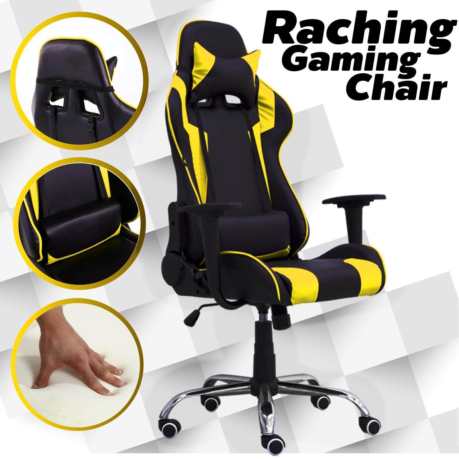 การใช้งาน  BG Furniture  เก้าอี้เล่นเกมส์ เก้าอี้สำนักงาน ปรับนอนได้ Gaming Chair - รุ่น E-01