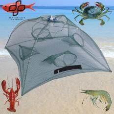 igootech 4/6/8 Holes Nylon Folding Fishing Net กระชังดักกุ้ง ดักปลา ขนาด 4/6/8 ช่อง (1psc)