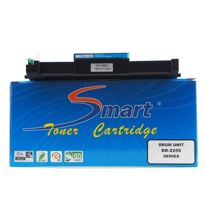 ราคา Smart Toner ชุดดรัม Drum Unit Dr 2255 สำหรับปริ๊นเตอร์เลเซอร์ Brother Hl 2130 2132 2135W 2240 2240D 2250Dn 2270Dw Dcp 7055 7055W 7060D 7065Dn 7070Dw Mfc 7360N 7460Dn 7460N 7470D 7860Dw Fax 2840 ปริมาณการพิมพ์ 12 000 แผ่น ตลับดรัมไม่ใช่ตลับหมึก ใหม่