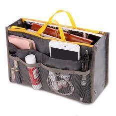 กระเป๋าจัดระเบียบ Bag in Bag - สีเทา