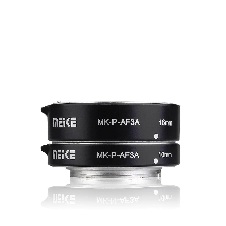 Meike Mk-P-Af3a ท่อมาโคร Auto Focus สำหรับกล้อง Panasonic และ Olympus เมาว์เหล็กแข็งแรง.