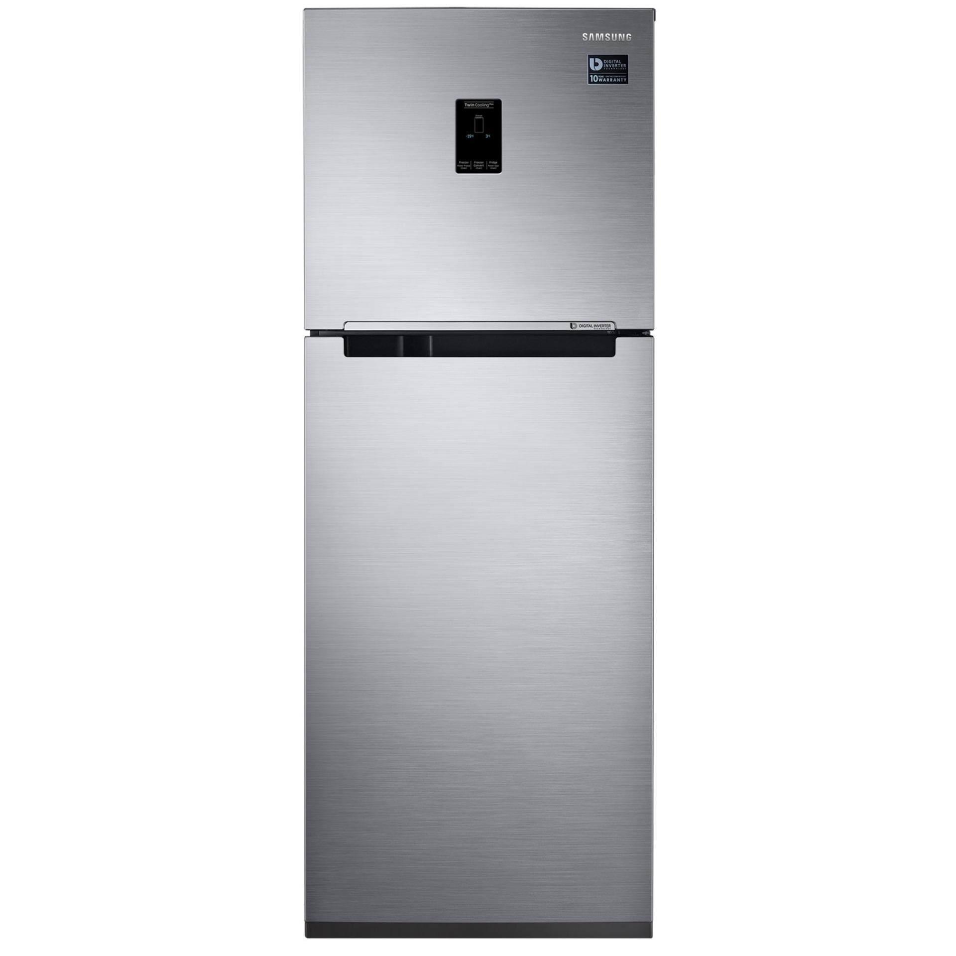 ผลการค้นหารูปภาพสำหรับ Samsung ตู้เย็น 2 ประตู RT29K5511S8/ST พร้อมด้วย Twin Cooling Plus™, ความจุ 10.7Qu