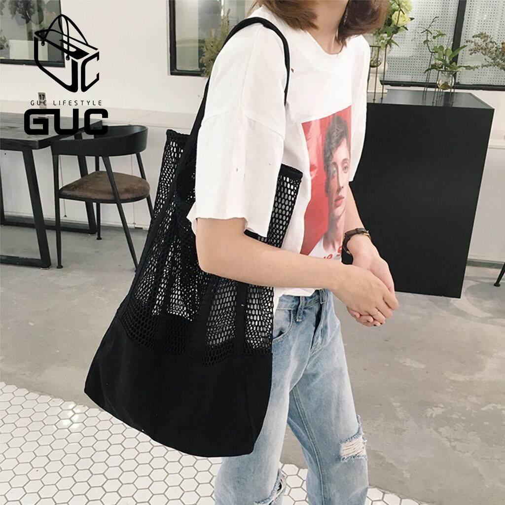 กระเป๋าเป้สะพายหลัง นักเรียน ผู้หญิง วัยรุ่น ลำปาง GUC new✨กระเป๋าผ้าตาข่ายน่ารักสไตล์เกาหลีชิคๆ  GUC B628