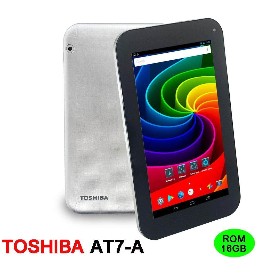 Toshiba แท็บเล็ต  7 นิ้ว 16 GB AT7-A กล่องขาว