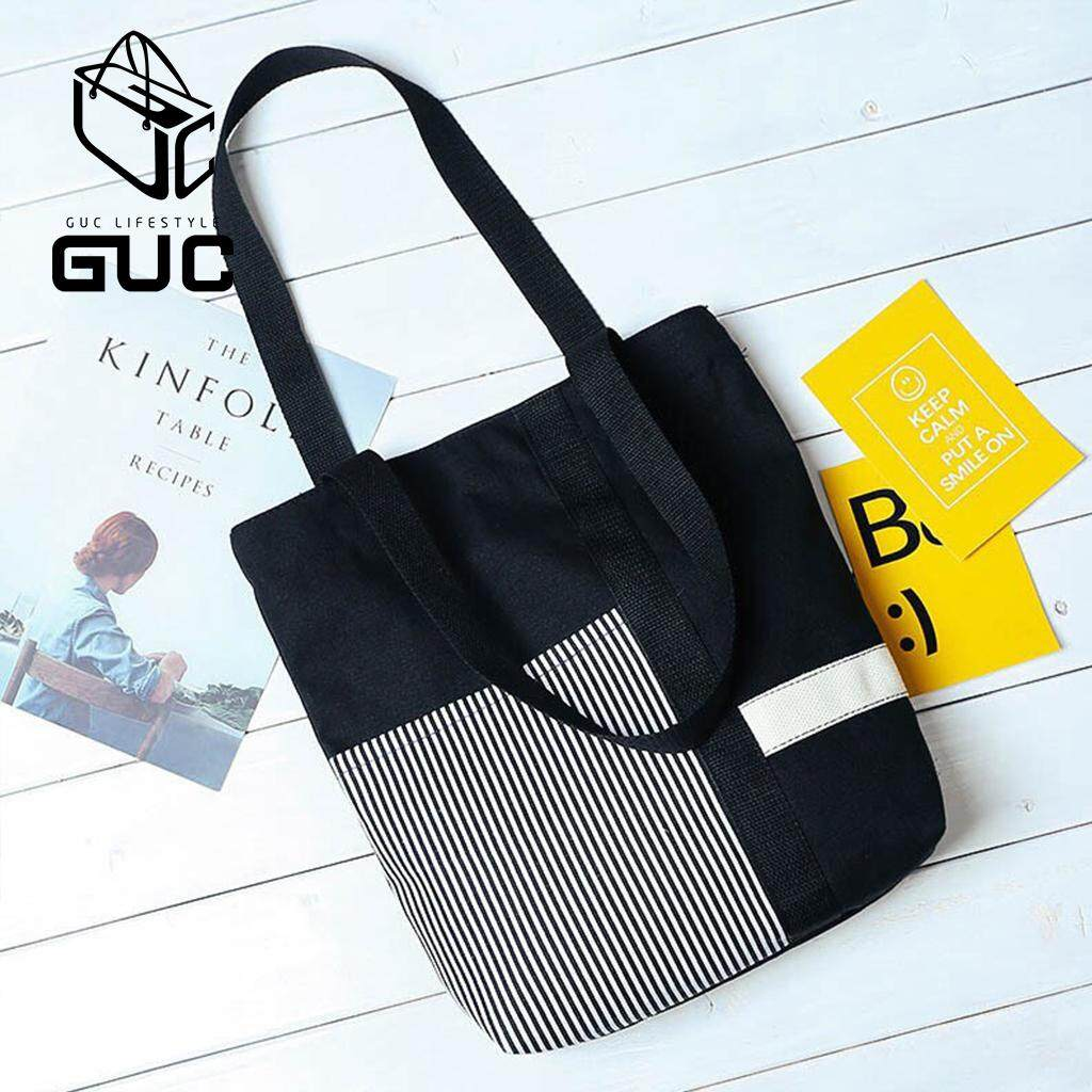 กระเป๋าถือ นักเรียน ผู้หญิง วัยรุ่น กระบี่ GUCกระเป๋าผ้าสะพายข้างKINF GUC B367