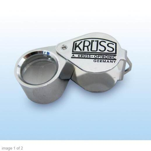 ราคา Kruss กล้องส่องพระ ส่งเพชร รุ่น Lu 08 อัตราขยาย 10 เท่า หน้าเลนส์ 18 Mm เลนส์คุณภาพ 2 ชั้น ราคาคุ้มค่า สี Siver ถูก