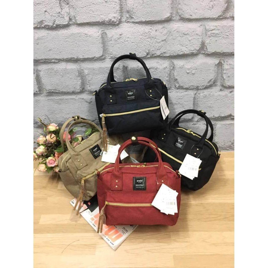 เพชรบุรี ANELLO 2 WAY POLYESTER CANVAS SHOULDER BAG