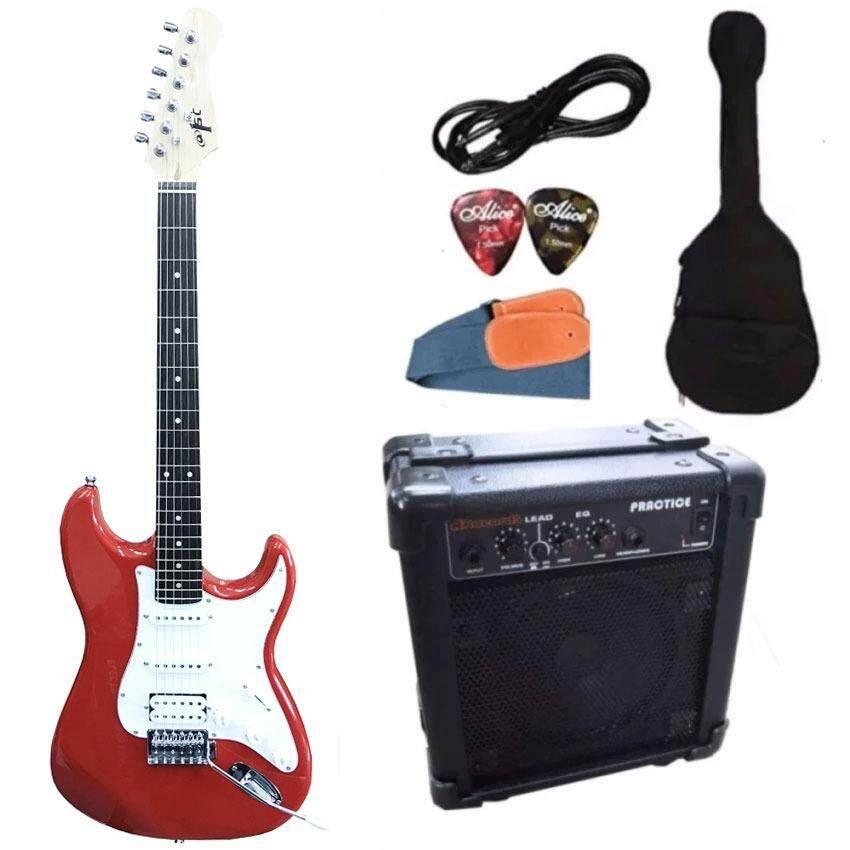 ส่วนลด สินค้า At First กีตาร์ไฟฟ้า Electric Guitar Stratocaster รุ่น Ae 112 Set
