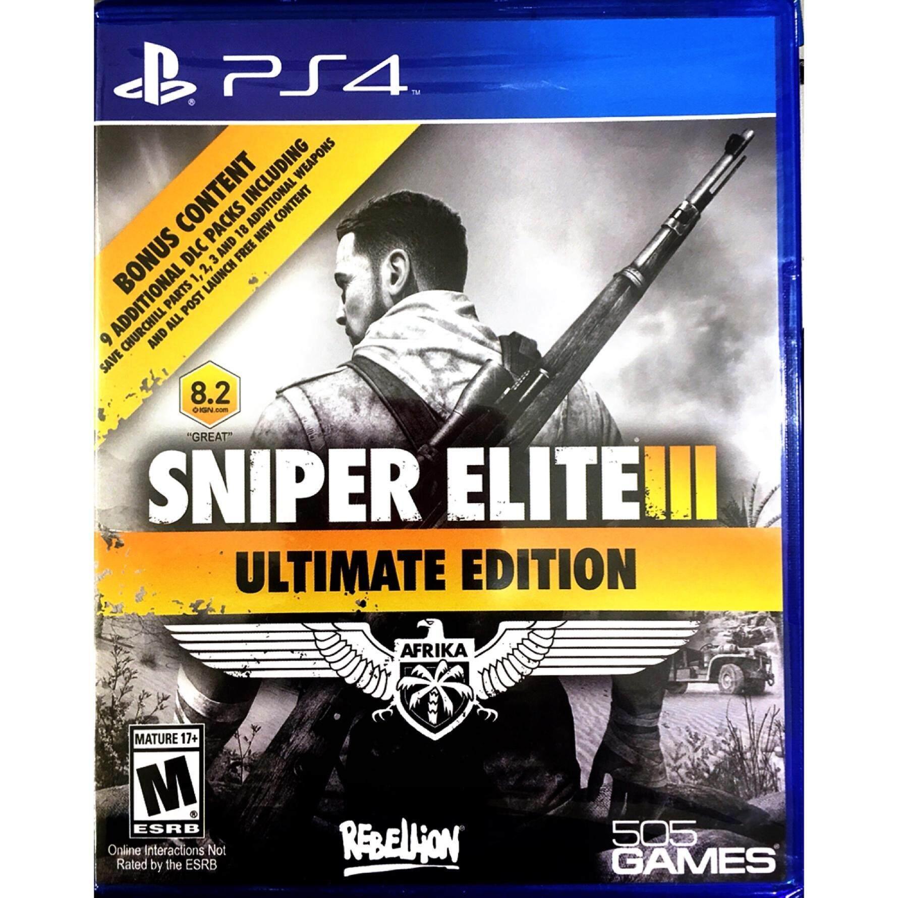PS4 Sniper Elite III Ultimate Edition ( AllZone )( English )
