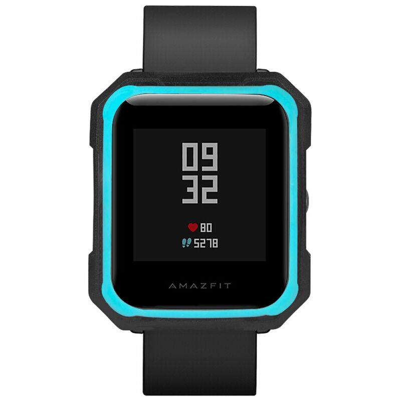 Tamister Fashion Double Color Tpu Soft Anti-Break Protection Sleeve Watchcase Bumper For Huami Amazfit By Charleybrewer.