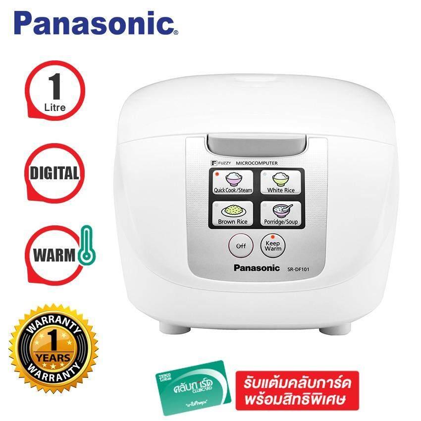 Panasonic หม้อหุงข้าวไมโครคอมพิวเตอร์ รุ่น SR-DF101