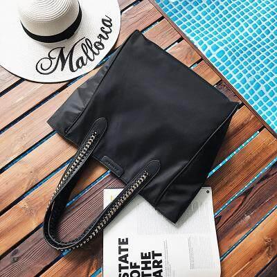 กระเป๋าสะพายพาดลำตัว นักเรียน ผู้หญิง วัยรุ่น สงขลา หลิวเหวินรุ่นเดียวกันกระเป๋าสะพายขนาดใหญ่สไตล์เกาหลีใหม่น้ำกระเป๋าผู้หญิงแฟชั่นมือถือกระเป๋าผ้าไนลอน Tote Bag กระเป๋าสะพายไหล่ผ้า Oxford