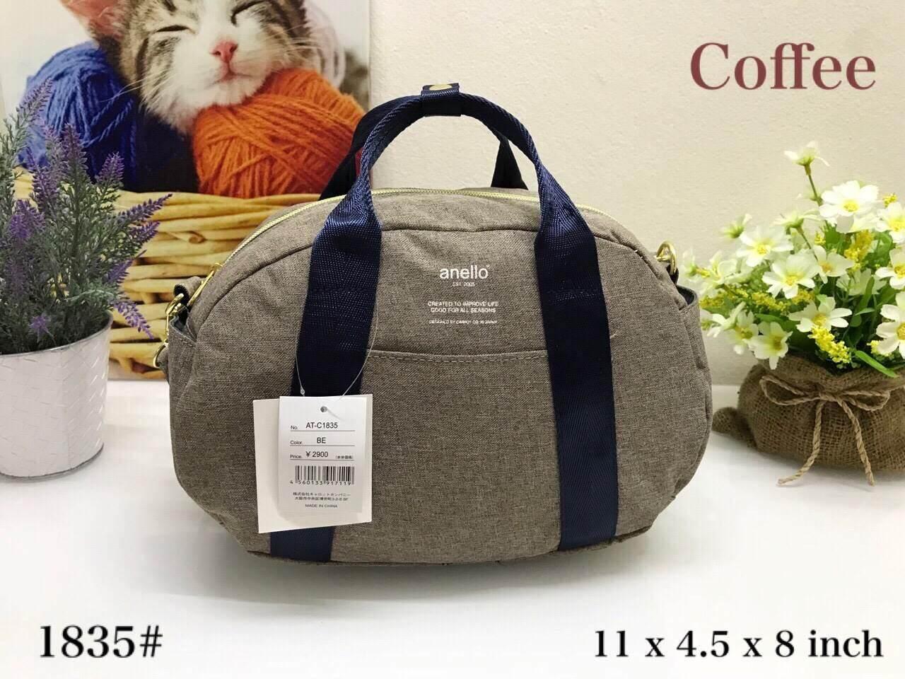 สมุทรปราการ Anello Mini Boston shoulder Bag ของแท้ %
