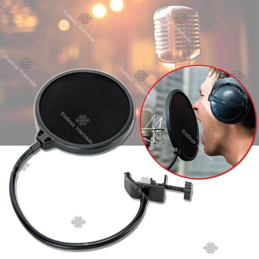 ราคา Elit ที่กันลม ป๊อปฟิลเตอร์ สตูดิโอไมโครโฟน Studio Microphones Mic Pop Filter Mask Shield Protection รุ่น Mft201 Wu Black Elit ออนไลน์