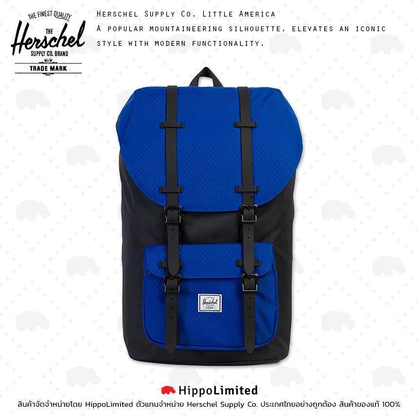 3c0a806e577 กระเป๋า กระเป๋าสะพาย Herschel Little America - Black   Surf The Web