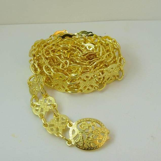 ส่วนลด Pearl Jewelry เข็มขัด ออเจ้า เส้นเล็กมาก Gs01