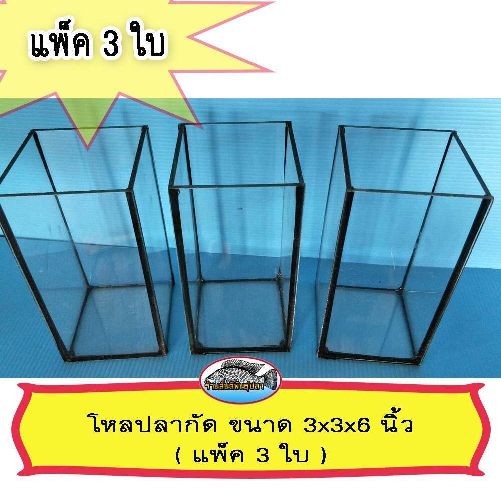โหลปลากัด ขนาด 3x3x6 นิ้ว ( แพ็ค 3 โหล ) By Mt Shop11.