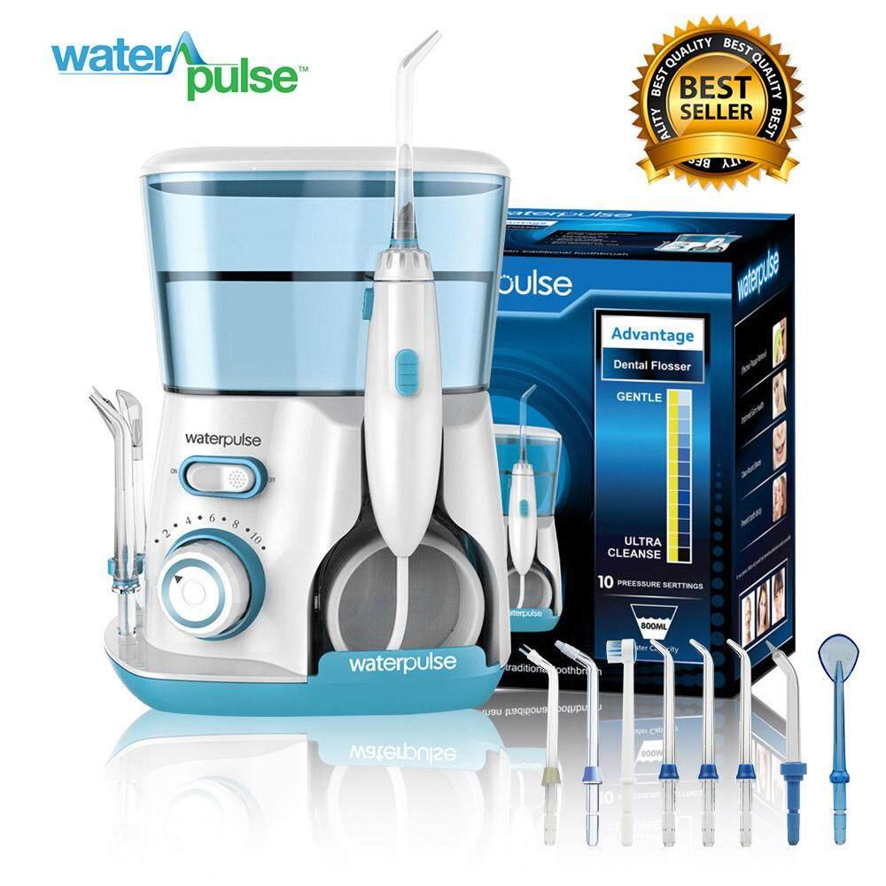 Waterpulse เครื่องขัดฟันพลังน้ำ Water Flosser รุ่น Advance V300g สี Blue - เครื่องฉีดน้ำทำความสะอาดฟัน - ไหมขัดฟัน - ลดกลิ่นปาก / คราบหินปูน / อาการเหงือกร่น By Hippo Pet Shop.