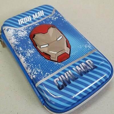 ส่งฟรี kerry!!! ขาย กล่องดินสอสมิกเกิ้ล EVA กระเป๋าดินสอ กล่องดินสอ smiggle hardtop pencil case 3d 3ดี Iron-man ไอร่อนแมน