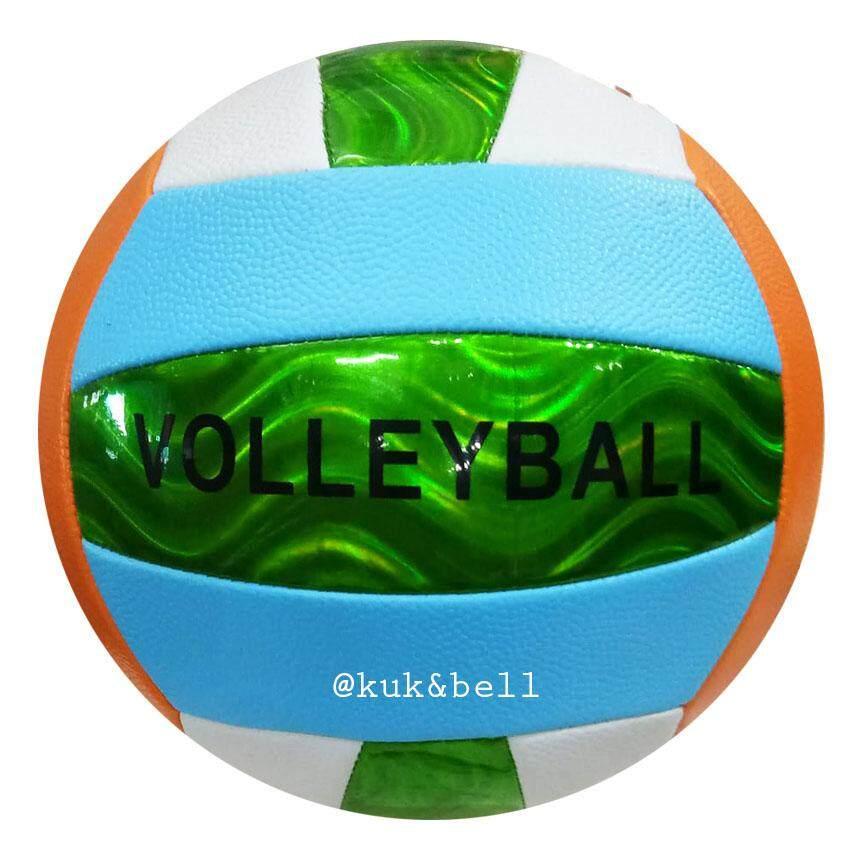 patipan toy บอลหนัง ลูกวอลเล่ย์บอล Volleyball แถมฟรี ตาข่ายใส่ลูกวอลเลย์บอล 799MD