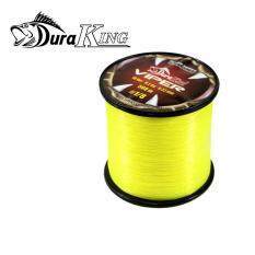 "DuraKing - สายเอ็นตกปลา ""VIPER"" ขนาด 18lbs 8.2kg 0.33mm 560 เมตร(Yellow)"