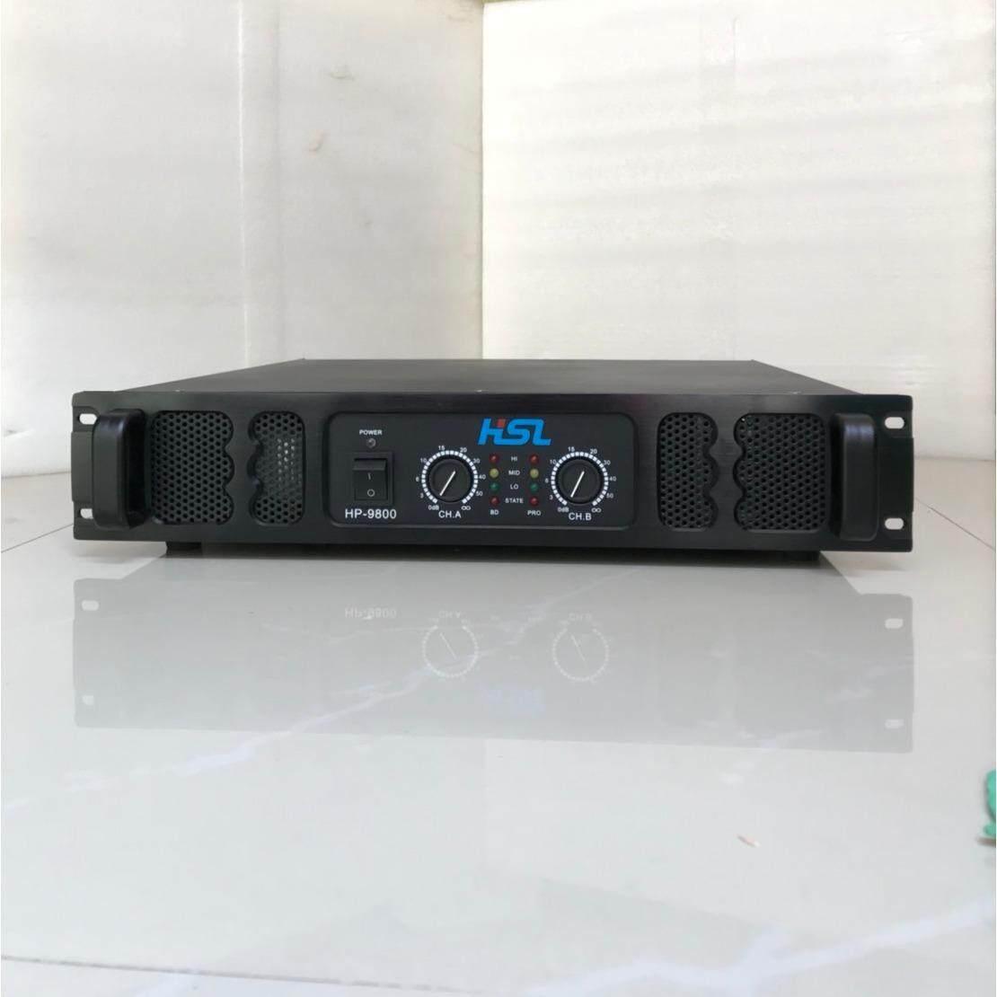 เพาเวอร์แอมป์ เครื่องขยายเสียง 400วัตต์ รุ่น HP-9800