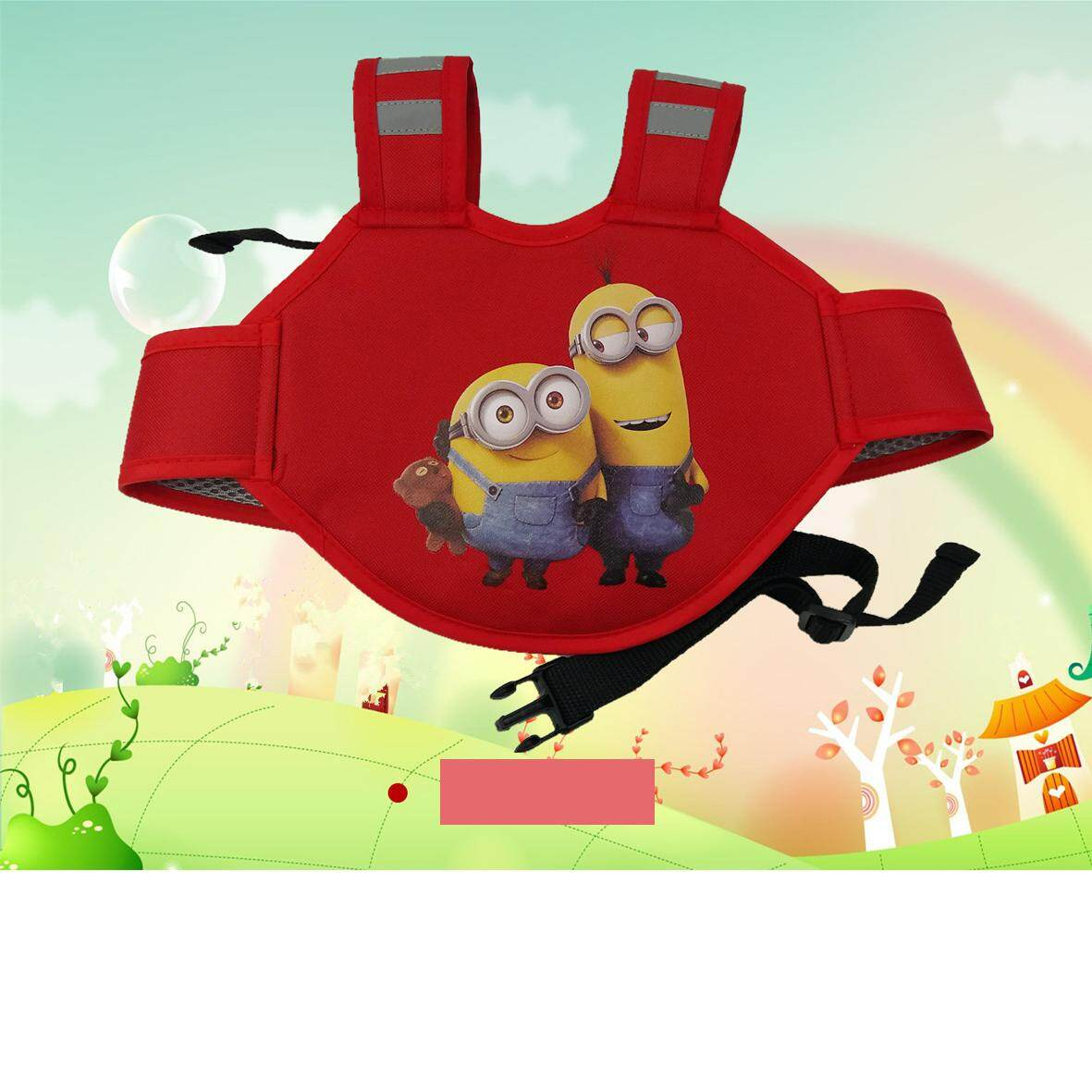 baby style สายรัดนิรภัยกันเด็กตกรถมอเตอร์ไซต์ สำหรับเด็กอายุ 3 - 10 ปี แบบกระเป๋าเป้สะพายหลัง สำหรับขับขี่มอเตอร์ไซต์ รุ่น:D1