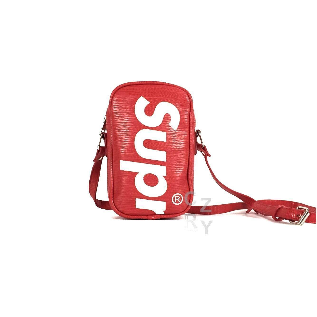 ขาย Crzy Bkk กระเป๋าสะพาย Supreme สุดฮิต รุ่น A033 สี Red มีหลายสีให้เลือก ผู้ค้าส่ง