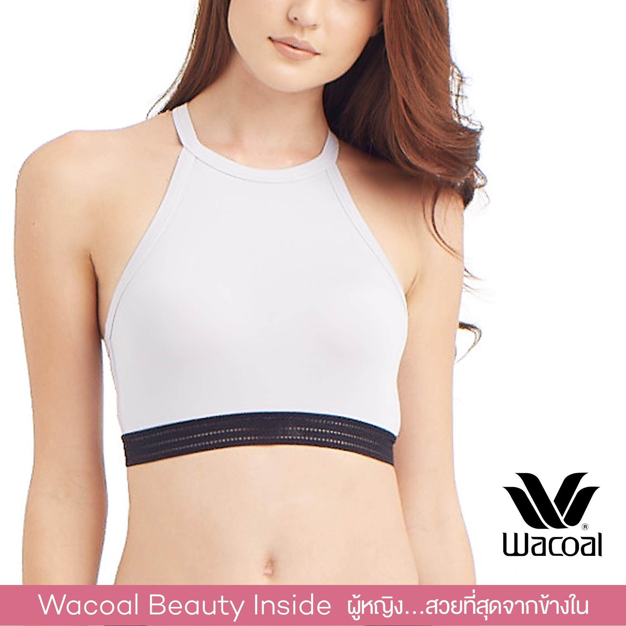 Wacoal Lingerie Casual bra (Wireless suport) บราสวมหัว - WH9D23