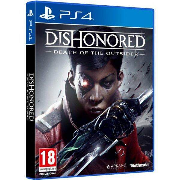 PS4 DISHONORED: DEATH OF THE OUTSIDER (EURO)