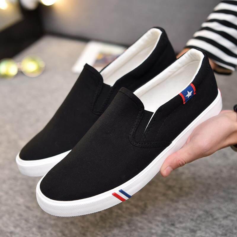 Canvas Casual รองเท้าผ้าใบ รองเท้าผ้าใบผู้ชาย รองเท้าแฟชั่น A002.