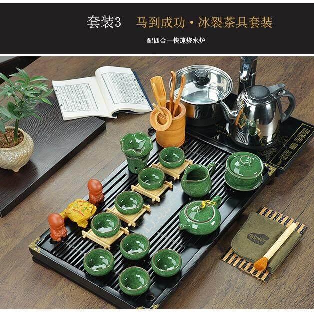 ราคา ชุดชาจีน สำหรับชงชาและเตาไฟฟ้า ครบเซต สำหรับ 8 ท่าน รวมอุปกรณ์ 28 ชิ้น Unbranded Generic เป็นต้นฉบับ