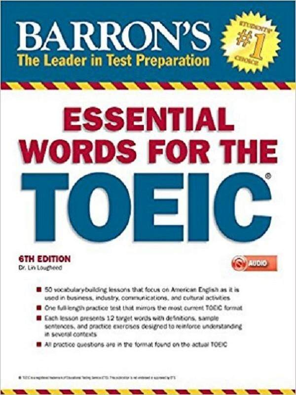 Barrons Essential Words For The Toeic (with Mp3 Cd) (6th Ed.).
