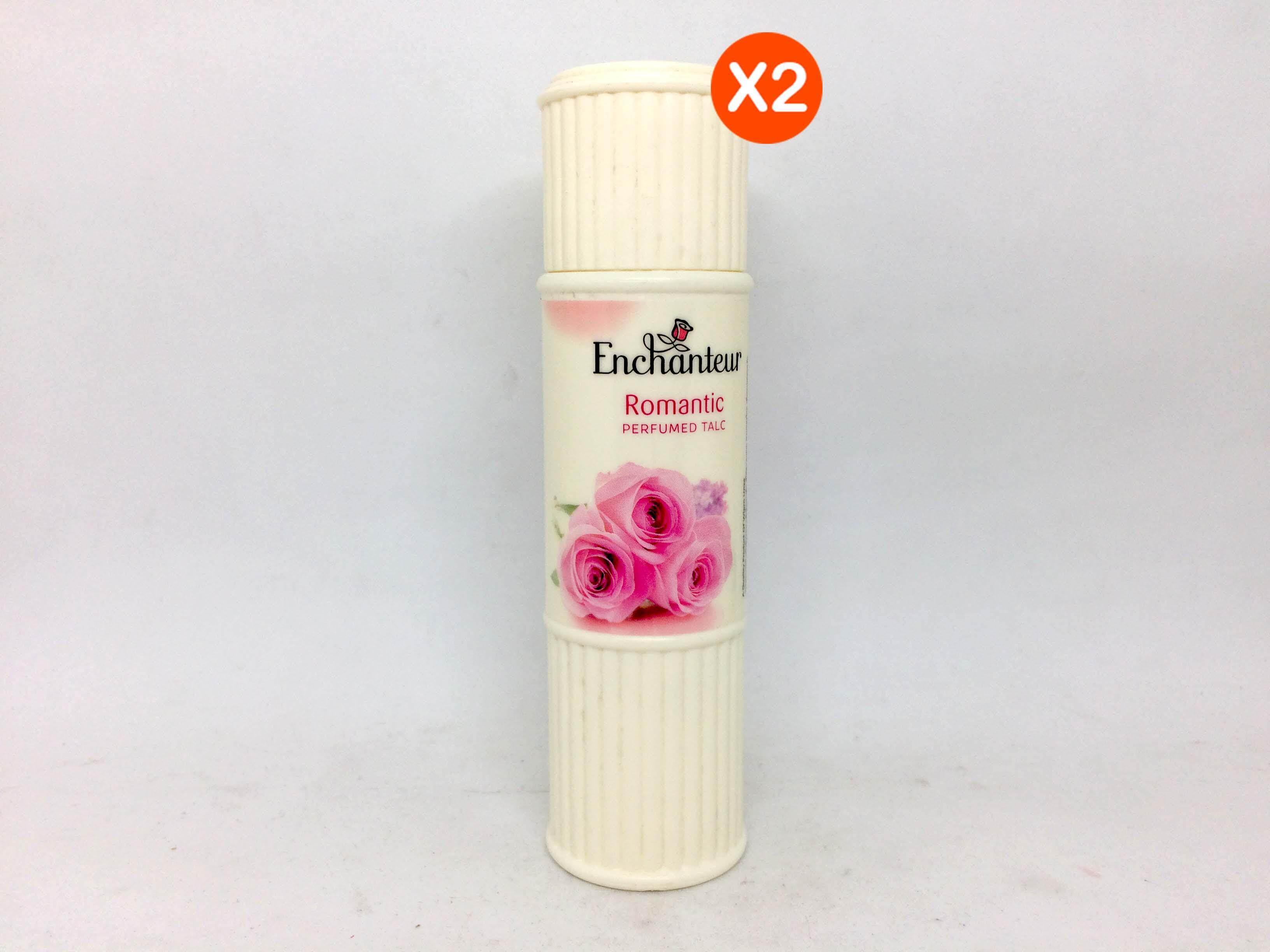 Enchanteur Thailand Perfumed Talc Alluring 200a Romantic 50g X 2 Pcs