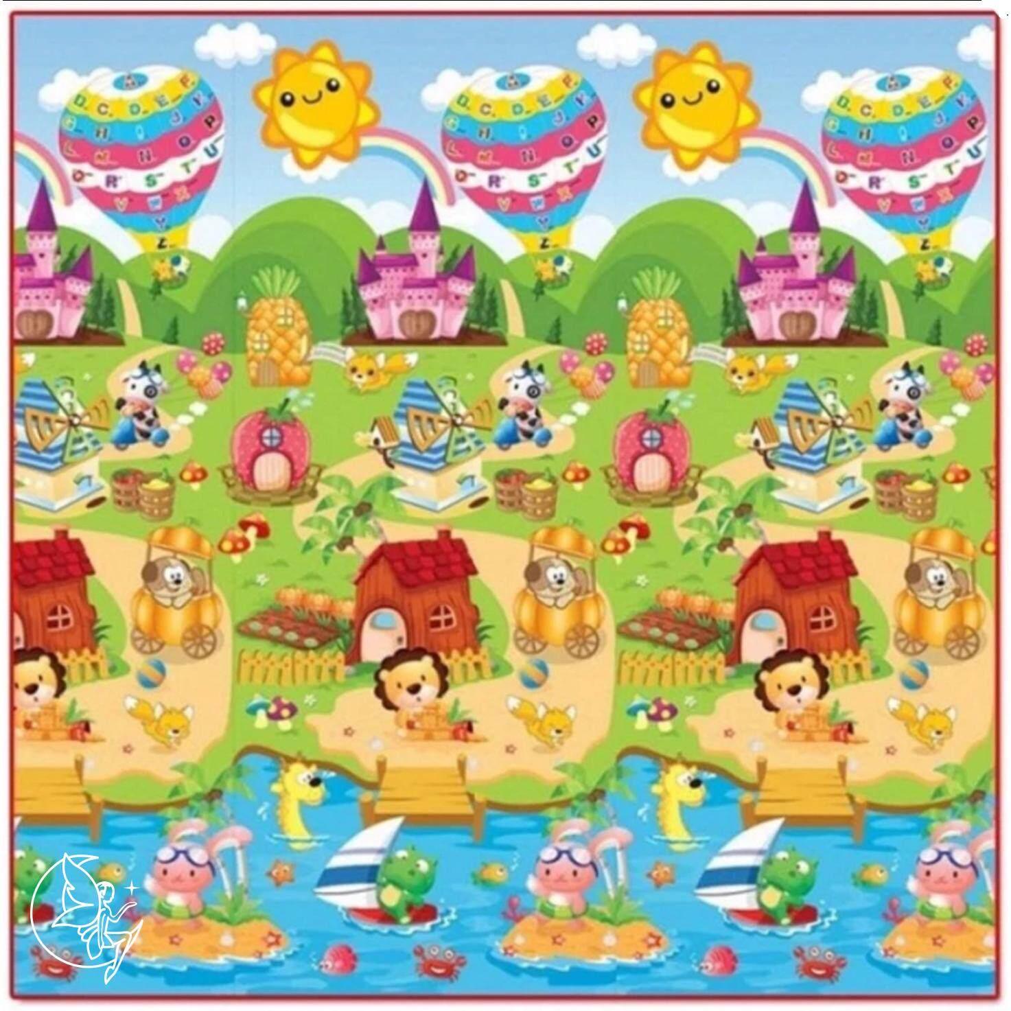 Minlane Kids Lion And Abc Playmats แผ่นรองคลาน เสื่อรองคลาน ลาย สิงโต และ เอบีซี ความหนา 2 ซม ขนาด 200 180 2 Cm ใหม่ล่าสุด