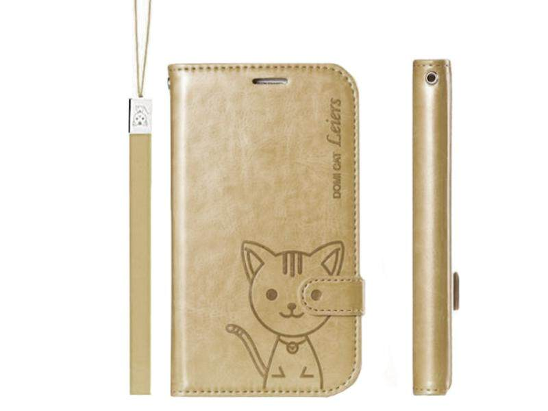Domi Cat Case Samsung Galaxy A9 Pro / A9 โปร / A910 / ซัมซุง แกแล็คซี่ A9 โปร Model Fancy Series  Flip Cover