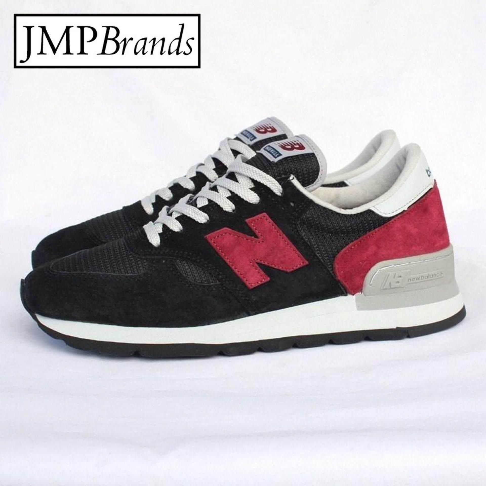 ขาย New Balance สำหรับผู้ชาย รุ่น M990Cbo Made In Usa รองเท้าผ้าใบกีฬา สำหรับออกกำลังกาย สีดำ ถูก ใน Thailand