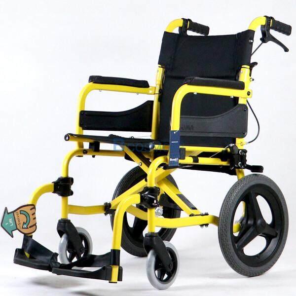 สุดยอดสินค้า!! Wheelchair รถเข็นอัลลอยด์ (โซม่า) SOMA SM-250.5 F14 สามารถปรับพนักพิงหลังได้ รองรับน้ำหนักได้ถึง 100 กก. [[ ประกันโครงสร้าง 1 ปีเต็ม!! ]] / bcosmo thailand