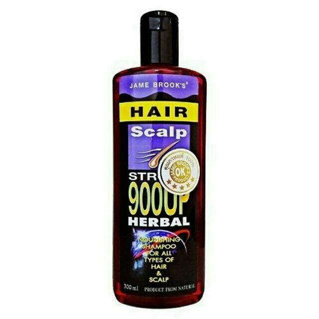 ของแท้!! แชมพู Jame Brook's Herbal Anti Loss Hair Shampoo เจมส์ บรูคส์ แชมพู ปลูกผม แก้คันรังแค แก้ผมร่วง ผมบาง 300ml. By Clcmall.