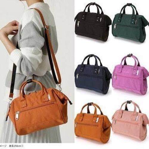 ยี่ห้อไหนดี  ปทุมธานี New collection 2018!! ANELLO 2 Way poleyester Twill Mini Shoulder Bag