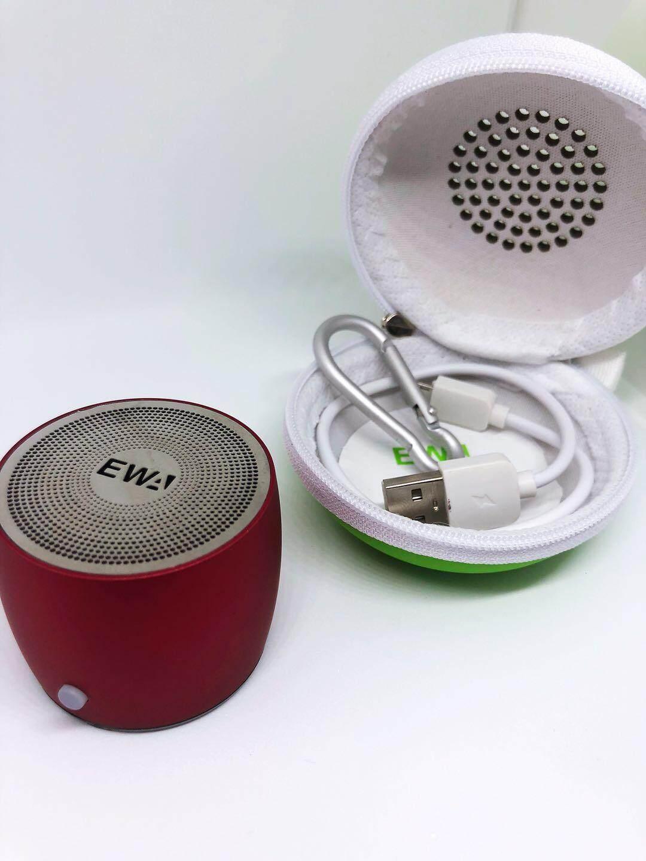ลำโพง บลูทูธ EWA A103 mini Bluetooth Speaker เเท้เเถม กระเป๋า ลำโพงบลูทูธ ขนาดพกพา เสียงดี เบสดัง คุ้มราคา ขนส่งโดย Kerry Express