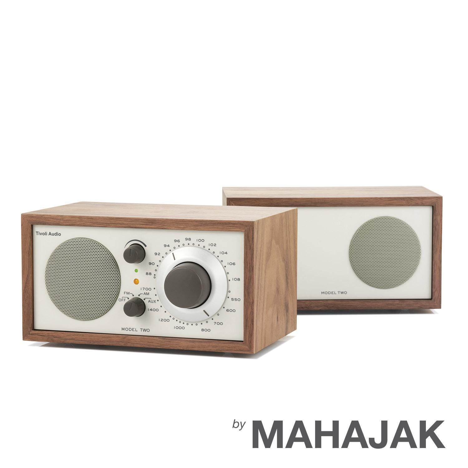 TIVOLI MODEL TWO STEREO (Walnut/Beige)