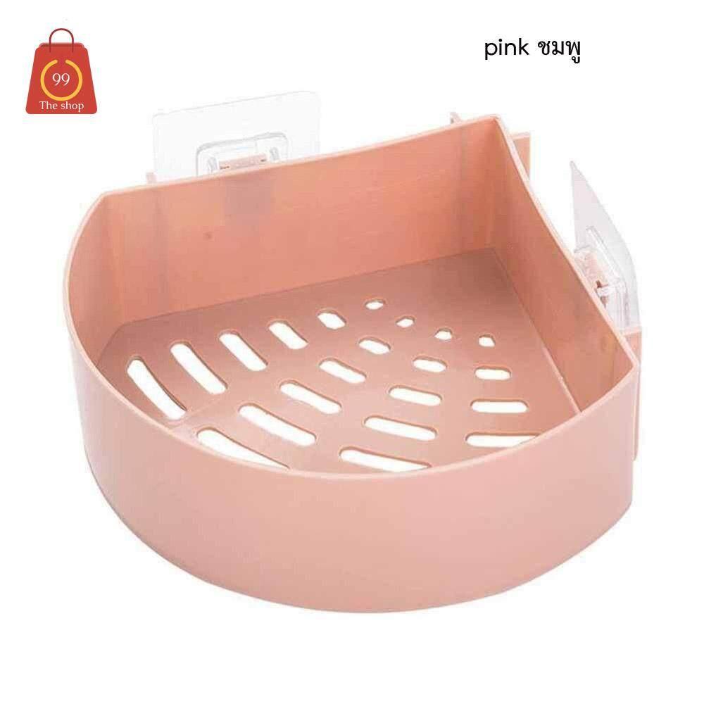 ชั้นวางของแบบติดผนังในห้องน้ำ ราคาต่อชิ้นแบบไม่ต้องเจาะ ติดตั้งง่ายแข็งแรง รับน้ำหนักไ้ด้มาก(ใช้ได้กับพื้นผิวเรียบเท่านั้นเช่นกระเบื้องง กระจก ) By Achute .