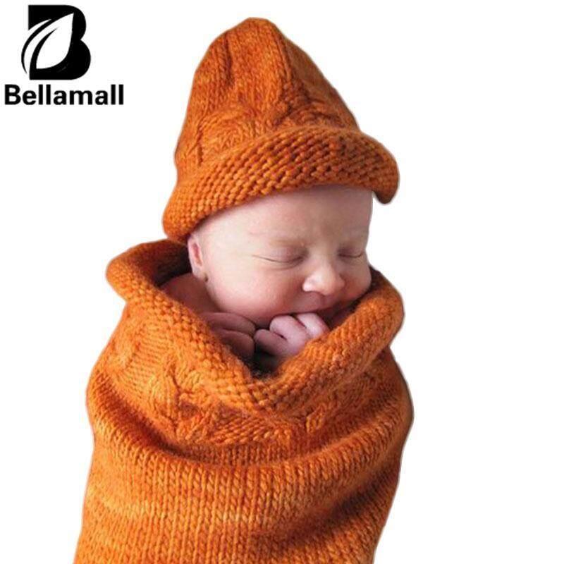 Bellamall: อุปกรณ์ตกแต่งเด็กทารกแรกเกิดใหม่ถักถุงมือคลุมด้วยผ้าถักไหมพรมแบบพกพา - นานาชาติ By Bellamall.